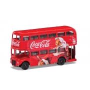 Miniatura Ônibus London Bus Coca Cola Christmas Corgi