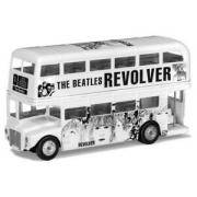 Miniatura Ônibus London Bus Revolver Beatles Corgi