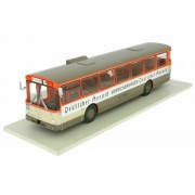 Miniatura Ônibus Mercedes Benz O 305 1979 Frankfurt 1/43 Ixo Models Coleção Revista