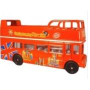 Miniatura Ônibus Londres City Sightseeing 1/76 Oxford