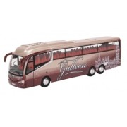 Miniatura Ônibus Scania Irizar i6 Galleon Travel 1/76 Oxford