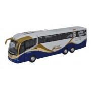 Miniatura Ônibus Scania Irizar i6 Goldline Defeito 1/76 Oxford