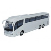 Miniatura Ônibus Scania Irizar i6 White 1/76 Oxford