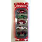 Miniatura Pack Christmas com Fusca 1/64 Matchbox