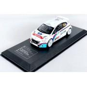 Miniatura Peugeot 208 T16 RS Rally 1/43 Ixo