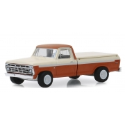 Miniatura Pick Up Ford F-100 1973 with Bed Cover 1/64 Greenlight