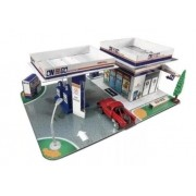 Miniatura Pick Up Gas Station Build-n-Play 1/64 Maisto