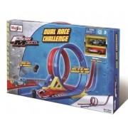 Miniatura Pista Dual Race Challenge 1/64 Maisto