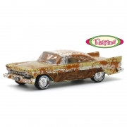 Miniatura Plymouth Belvedere 1957 Desert Gold and Sand Tulsarama 1/64 Greenlight