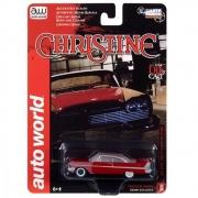 Miniatura Plymouth Fury Christine After Fire 1958 1/64 Auto World