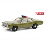 Miniatura Plymouth Fury US Army 1977 The A Team 1/64 Greenlight