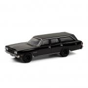 Miniatura Plymouth Satellite 1970 Wagon Black Bandit 1/64 Greenlight