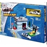 Miniatura Polícia Delegacia Build-n-Play 1/64 Maisto