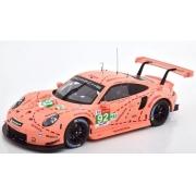 Miniatura Porsche 911 GT3 RSR #92 Le Mans 2018 1/18 Ixo