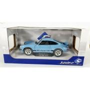 Miniatura Porsche 911 RSR 1974 Azul 1/18 Solido