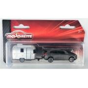 Miniatura Porsche Cayenne Com Trailer 1/64 Majorette