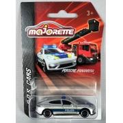 Miniatura Porsche Panamera Polícia S.O.S Cars 1/64 Majorette