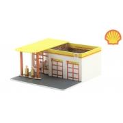 Miniatura Posto de Gasolina Shell Mechanic's Corner 1/64 Greenlight