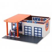 Miniatura Posto de Gasolina Union Mechanic's Corner 1/64 Greenlight