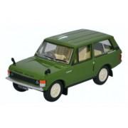 Miniatura Range Rover Classic Lincoln Green 1/76 Oxford