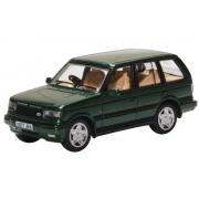 Miniatura Range Rover P38 Green 1/76 Oxford