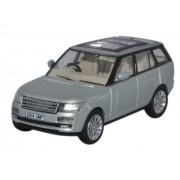 Miniatura Range Rover Vogue Indus Silver 1/76 Oxford