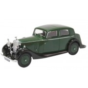 Miniatura Rolls Royce 25/30 Thrupp Maberly  Dark Green/Black 1/43 Oxford