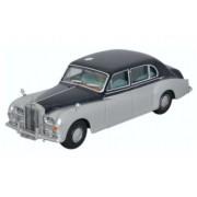 Miniatura Rolls Royce Phantom V Navy Silver 1/76 Oxford