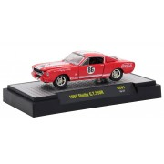 Miniatura Shelby G.T.350R 1965 Coca Cola Race Car 1/64 M2