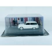 Miniatura Simca 1100 La Route Bleue Diorama com 2 Bonecos 1/43 Atlas Ixo