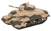 Miniatura Tanque Militar Sherman Mk III 10th Armoured Division 1942 1/76 Oxford
