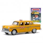 Miniatura Taxi Checker 1970 Garbage Pail Kids 1/64 Greenlight