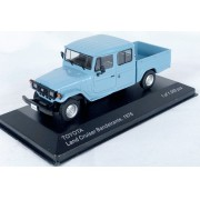 Miniatura Toyota Bandeirante Land Cruiser 1/43 Whitebox