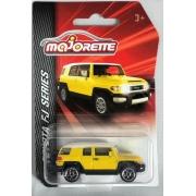 Miniatura Toyota FJ Amarelo 1/64 Majorette