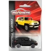 Miniatura Toyota FJ Preto 1/64 Majorette