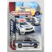 Miniatura Toyota Hilux Revo Polícia Thailand 1/64 Majorette