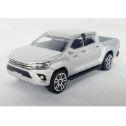 Miniatura Toyota Hilux Revo Prata Street Cars 1/64 Majorette