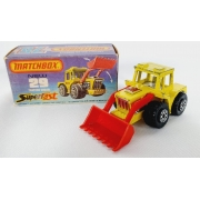 Miniatura Tractor Shovel N°29 Superfast 1/64 Matchbox