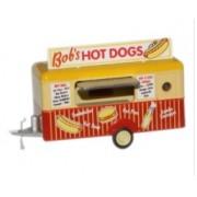 Miniatura Trailer Bobs Hot Dogs Mobile Trailer 1/76 Oxford