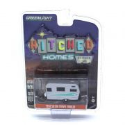 Miniatura Trailer Siesta Travel Trailer 1958 1/64 Greenlight