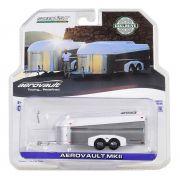 Miniatura Trailer Transporte de Carros Aerovault MKII 1/64 Greenlight