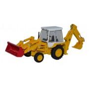 Miniatura Trator JCB 3CX  1980 1/76 Oxford