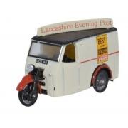 Miniatura Tricycle Van Lancashire Evening Post 1/76 Oxford