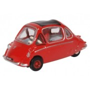 Miniatura Trojan Bubble Car Heinkel Red 1/76 Oxford