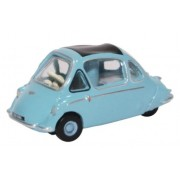 Miniatura Trojan Bubble Car Heinkel Roman Blue 1/76 Oxford