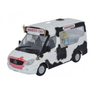Miniatura Van Dimacios Ice Cream Whitby Mondial 1/43 Oxford