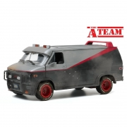 Miniatura Van GMC Vandura 1983 Bullet Holes The A Team 1/24 Greenlight