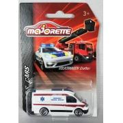 Miniatura Van Volkswagen Crafter S.O.S Cars 1/64 Majorette