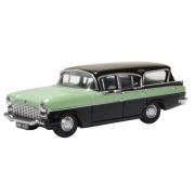 Miniatura Vauxhall Cresta Friary Green/Black 1/76 Oxford