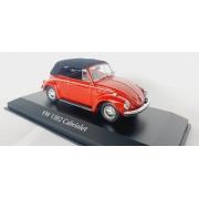 Miniatura Volkswagen Fusca 1302 Cabriolet 1/43 Maxichamps Minichamps
